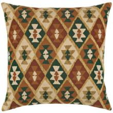 """Canyon Diamond Forest 20"""" Square Indoor-Outdoor Pillow"""