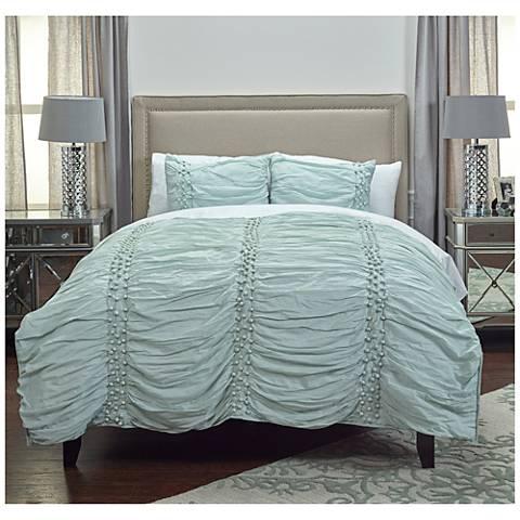Chelsea Cane Blue Quilt