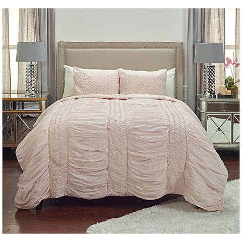Carly Pink Cotton Voile Quilt