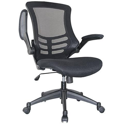 Lenox Black Mesh Adjustable Office Chair