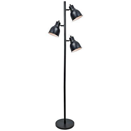 Lite Source Galvin Dark Bronze 3-Light Floor Lamp