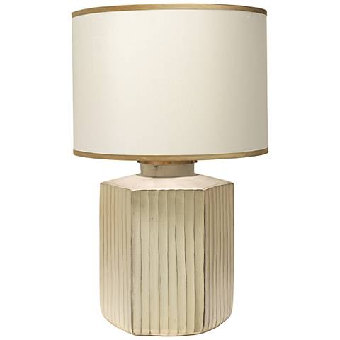 Jamie Young Anderson Gold Frosted Glass Table Lamp