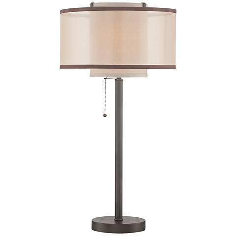 Lite Source Fabrizio Dark Bronze Metal Table Lamp