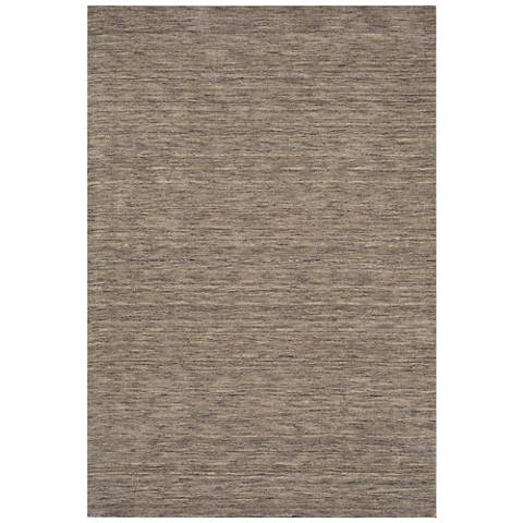 Dalyn Rafia RF100GR Hand-Loomed Granite Wool Area Rug