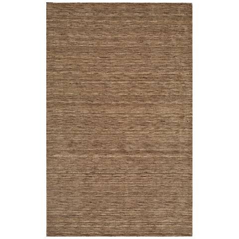 Dalyn Rafia RF100TP Hand-Loomed Taupe Wool Area Rug