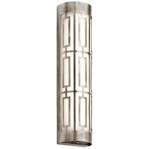 "Kichler Empire 20""W LED Classic Pewter Linear Bath Light"