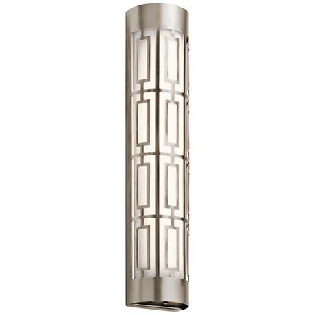 "Kichler Empire 24""W LED Classic Pewter Linear Bath Light"