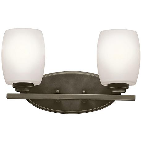 "Kichler Eileen 2-Light 14 1/4""W Olde Bronze Bath Light"