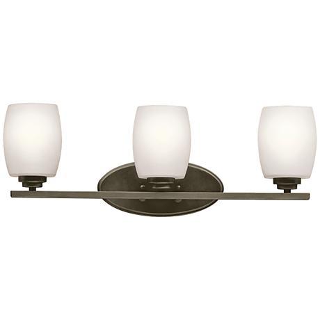 "Kichler Eileen 3-Light 24"" Wide Olde Bronze Bath Light"