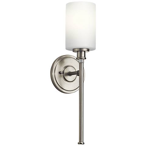 "Kichler Joelson 18 1/4"" High Brushed Nickel Wall Sconce"
