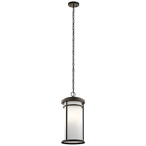 "Kichler Toman 21 1/4"" High Olde Bronze Outdoor Hanging Light"