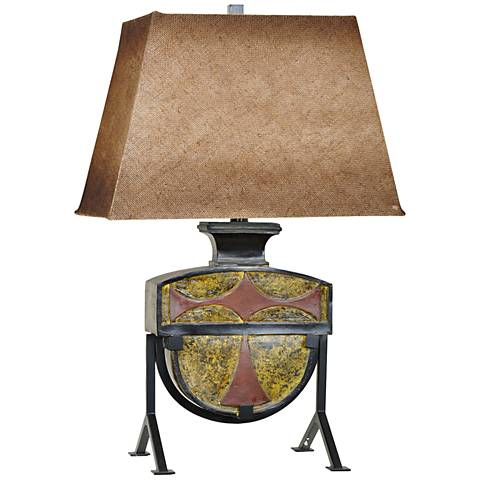 Crestview Collection Relic Metal Table Lamp