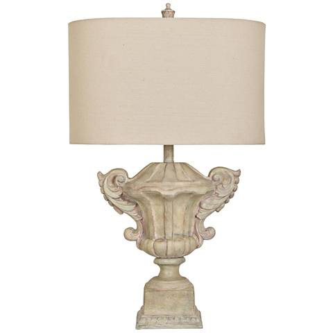 Crestview Collection Gabriella Sandstone Table Lamp