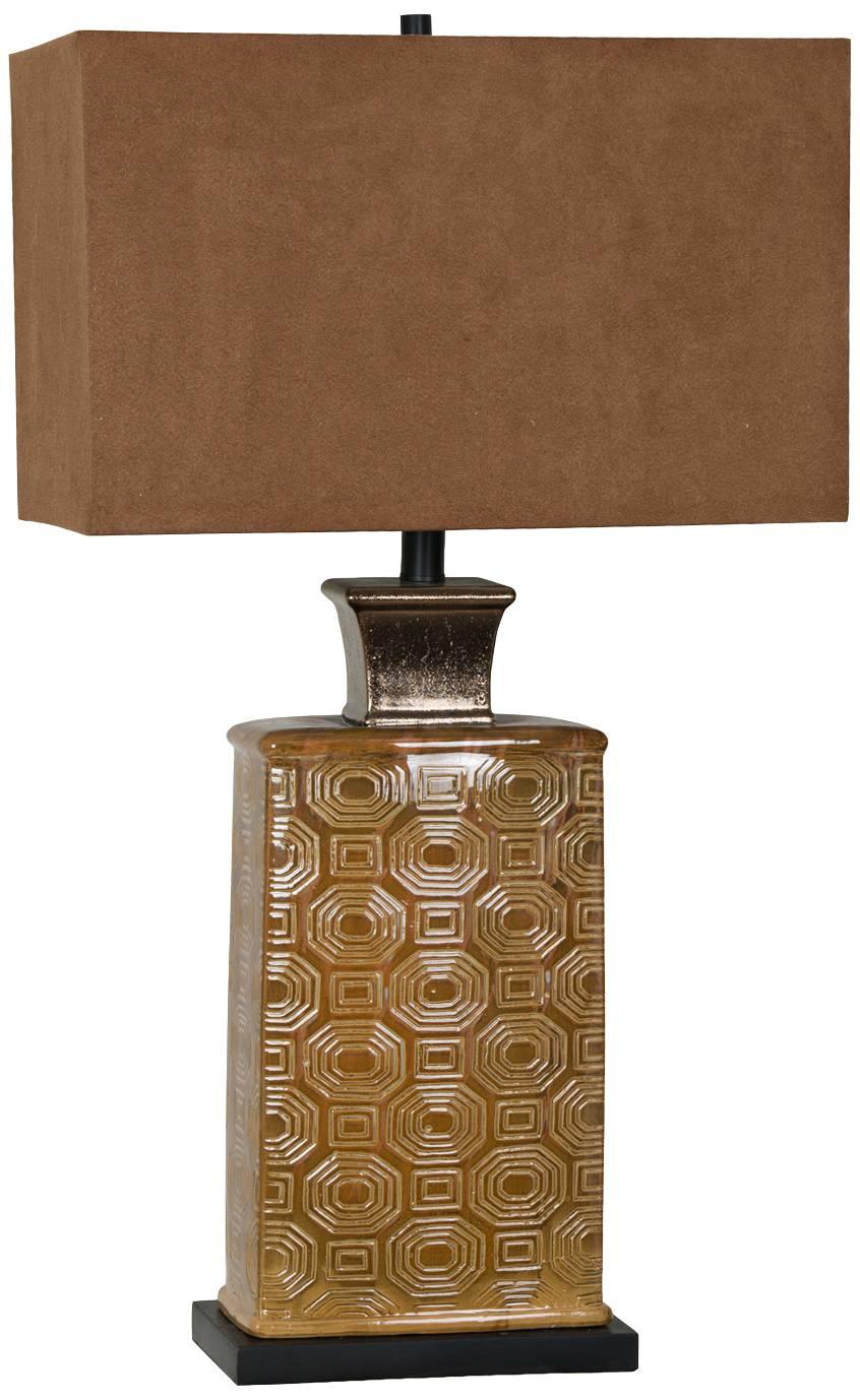 Julius Copper Drip Ceramic Table Lamp 8j096 Lamps Plus