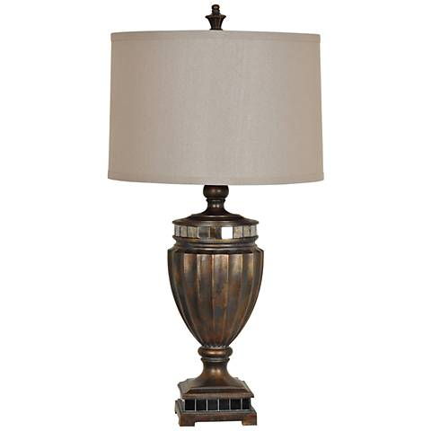 Crestview Collection Heritage Bronze Table Lamp