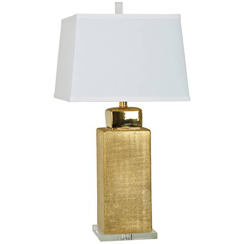 Crestview Collection Golden Age Ceramic Table Lamp