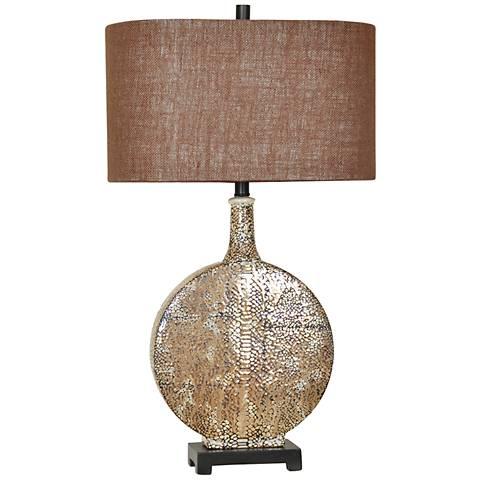 Crestview Collection Norris Rustic Ceramic Table Lamp