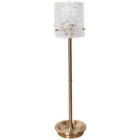 Crestview Collection Boulevard Soft Brass Uplight Table Lamp