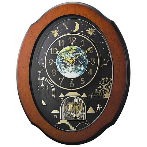 "Timecracker Cosmos 20 1/2"" High Motion Wall Clock"