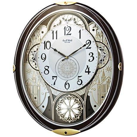 Wall Clocks At Lamps Plus : Gala Wood 18 1/4