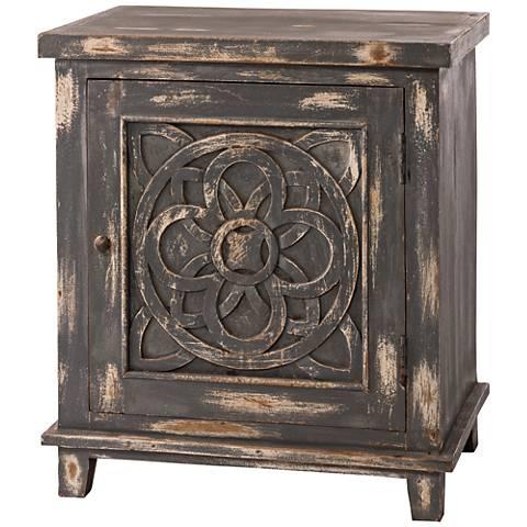 Hillsdale Havana Dark Graywash 1-Door Cabinet