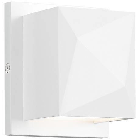 """Tech Lighting Cafe 5""""H White LED Wall Sconce"""