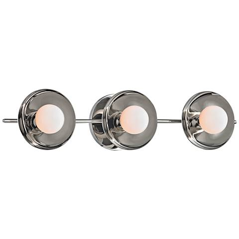 "Hudson Valley Julien 20""W Polished Nickel LED Bath Light"