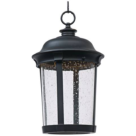 "Maxim Dover 16 1/2"" High Bronze LED Outdoor Hanging Light"
