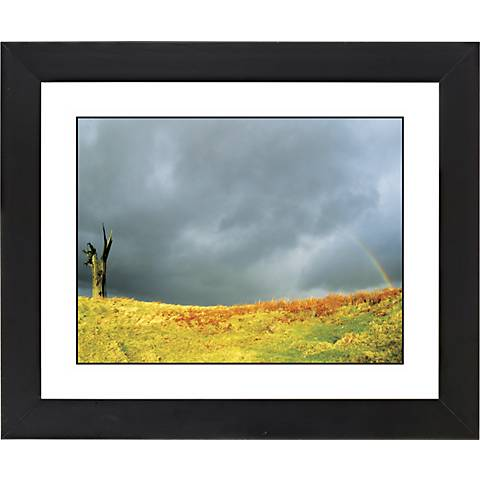 "After The Rain Black Frame Giclee 23 1/4"" Wide Wall Art"