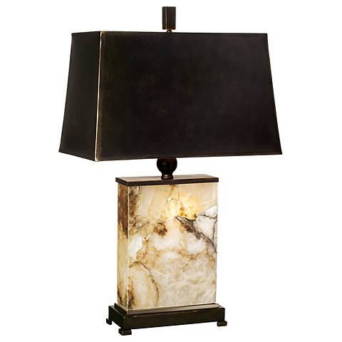 Marius Marble Night Light Table Lamp