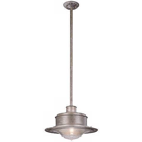 "South Street 10 1/4"" High Hanging Outdoor Light"