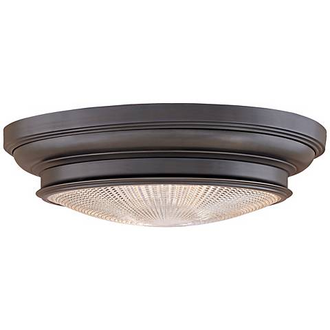 "Woodstock Old Bronze Finish 20"" Wide Ceiling Light"