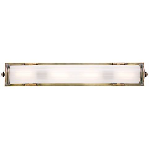 "Bristol 20 1/4"" Long Bronze Bath Light"
