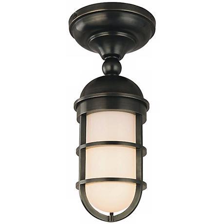 Groton Semi-flushmount Wet Location Ceiling Light Fixture