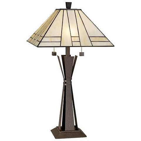 Kathy Ireland Citycraft Mission Table Lamp