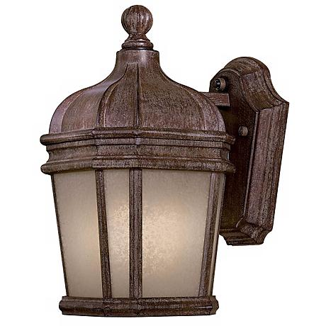 "Harrison 11 1/2"" Scavo Glass Outdoor Wall Light"