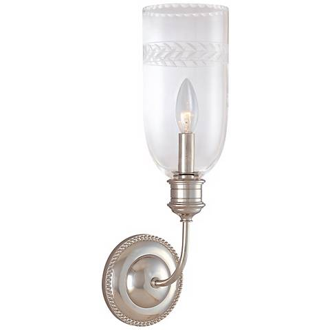 "Lafayette Collection Polished Nickel 17"" High Wall Sconce"