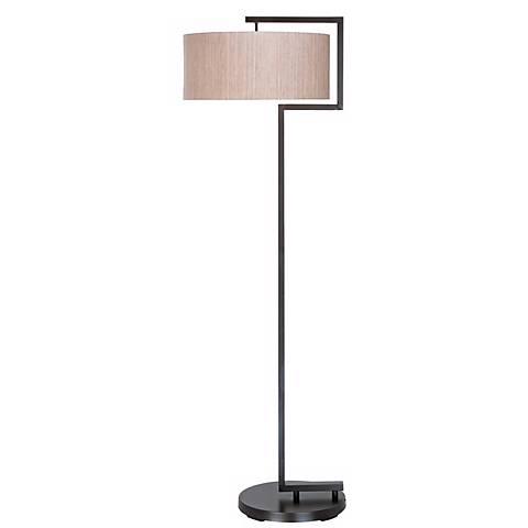 Urbanite Contemporary Bronze Floor Lamp
