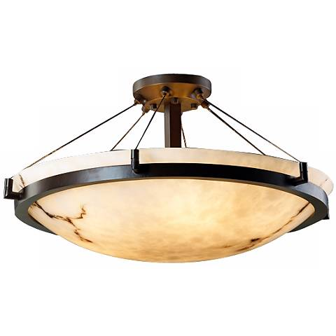 "LumenAria Collection Dakota Cable 50 1/2"" Wide Ceiling Light"