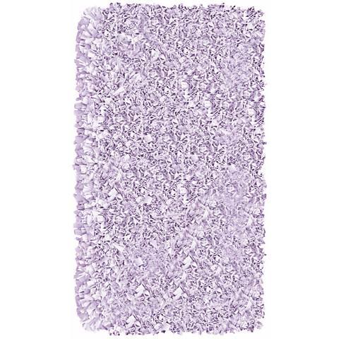 Raganoodle Lavender Shag Area Rug