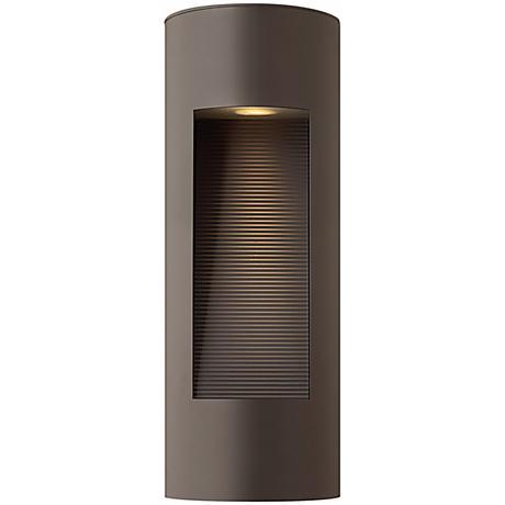 """Hinkley Luna Dark Sky 16"""" High Bronze Outdoor Wall Light"""