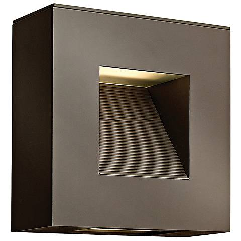 "Hinkley Luna 9"" High Bronze Outdoor Wall Light"