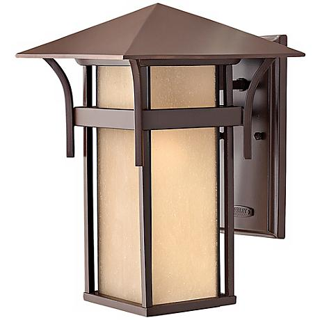 """Hinkley Harbor Collection 13 1/2"""" High Outdoor Wall Light"""
