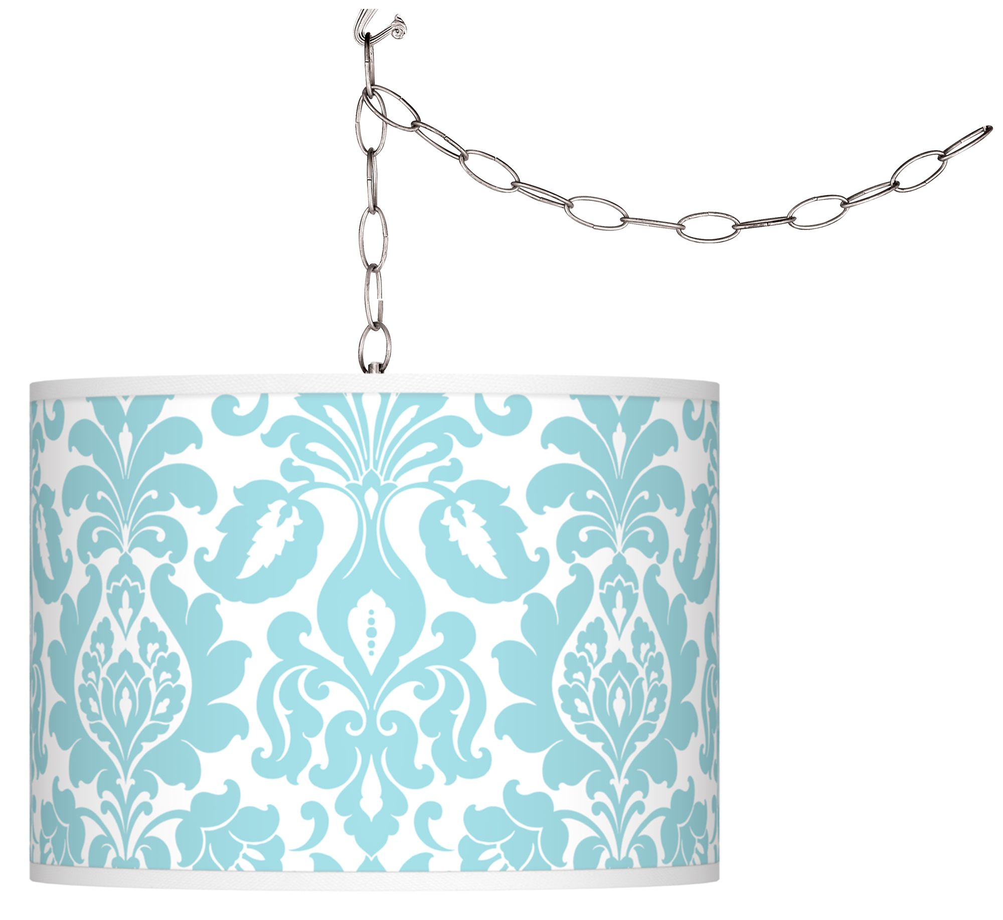 stacy garcia florence giclee plugin swag chandelier