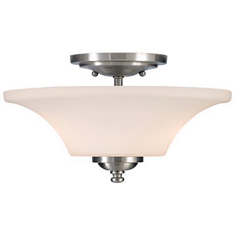 "Barrington 13"" Diameter Semi-Flushmount Ceiling Fixture"
