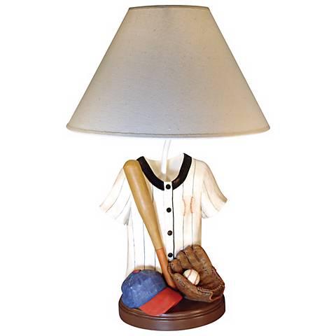 Baseball Jersey Table Lamp