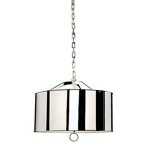 Robert Abbey Porter Nickel Pendant Light