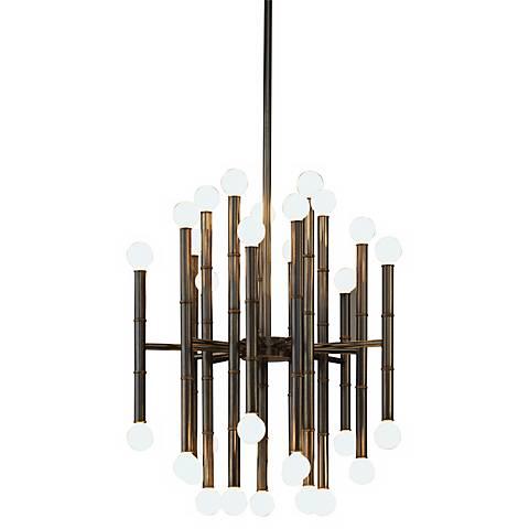 Jonathan Adler Meurice Collection 30-Light Bronze Chandelier