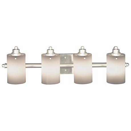 "Adano Collection 28"" Wide Four Light Bathroom Fixture"