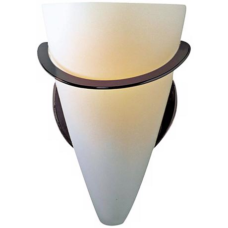 Holtkoetter Satin White ADA Cone Wall Sconce